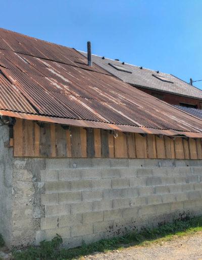 BEAULIEU TOITURE Charpente - Couverture - Zinguerie-en-Savoie - Chantier - Bac acier rénovation charpente planaise 73 - 2018-2111