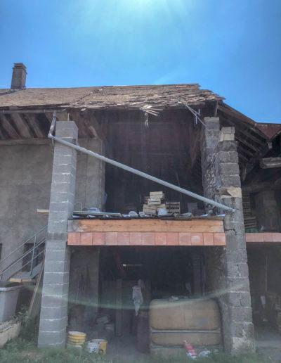 BEAULIEU TOITURE Charpente - Couverture - Zinguerie-en-Savoie - Chantier - Bac acier rénovation charpente planaise 73 - 2018-4249
