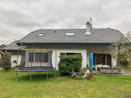 Rénovation de toiture en tuile mécanique et isolation par dessus – Aix-les-bains – 73