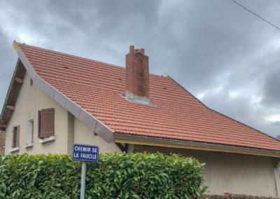 BEAULIEU TOITURE Charpente - Couverture - Zinguerie-en-Savoie - Chantier - Tuile mécanique terre cuite rouge nuancé brison saint innocent 73 -4484