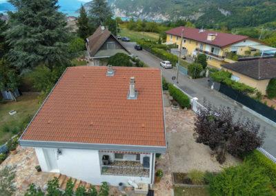 BEAULIEU TOITURE Charpente - Couverture - Zinguerie-en-Savoie - Chantier - Tuile mécanique terre cuite rouge nuancé brison saint innocent 73 -7086