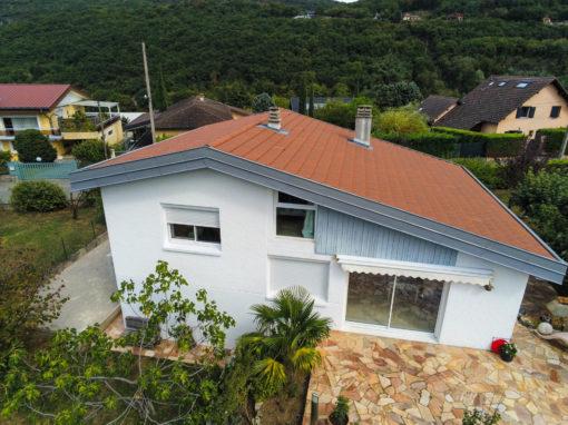 Rénovation de toiture en Tuile mécanique – Brison-saint-innocent – 73