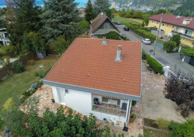 BEAULIEU TOITURE Charpente - Couverture - Zinguerie-en-Savoie - Chantier - Tuile mécanique terre cuite rouge nuancé brison saint innocent 73 -7089