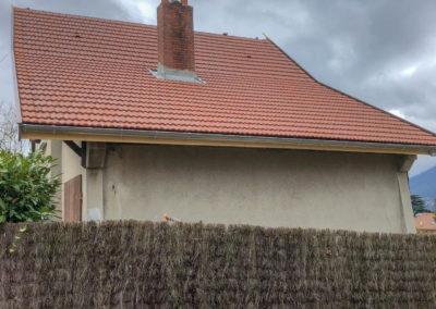 BEAULIEU TOITURE Charpente - Couverture - Zinguerie-en-Savoie - Chantier - Tuile mécanique terre cuite rouge nuancé brison saint innocent 73 -7769