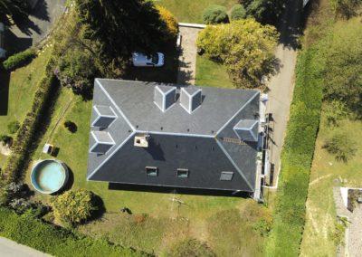 Rénovation de toiture en ardoise naturelle – Aix-les-bains – 73