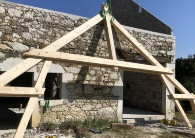 Renovation charpente ferme haute Savoieimage1