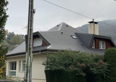 Renovation toiture ardoise - Barby savoie1
