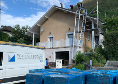 Renovation toiture montmélian 73