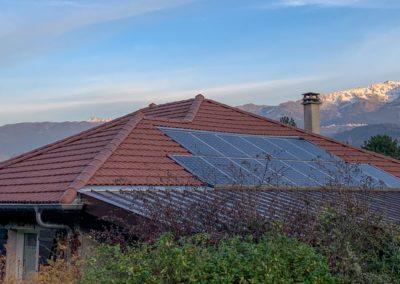 Rénovation de toiture et zinguerie d'une maison à Bernin – 38