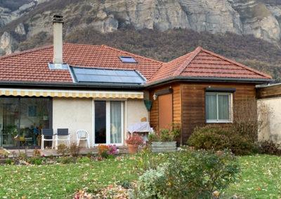 Toiture à Bernin en Isère :Réfection de toiture et zingueri